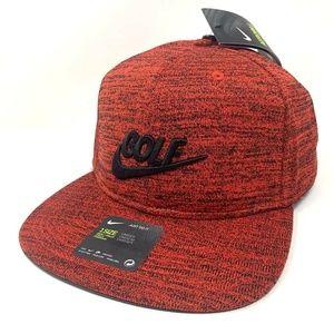 Nike Golf Pro Aerobill Siren Red Strapback Hat